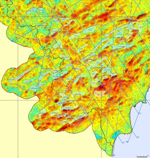 Cuenca Hidrográfica Río Júcar. Zonas de interés hidrogeológico en la Cuenca del Vinalopó