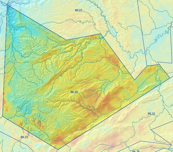 Cuenca Hidrográfica Río Júcar. Interpretación hidrogeológica de la U.H. 08.28 Caroch Sur
